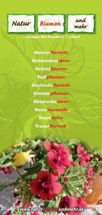 Pdf Zum Downloaden Natur Blumen Und Mehr