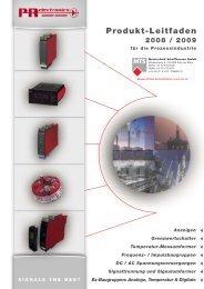 Produkt-Leitfaden, PDF-Datei, 2,9 MB - Industrie-Schweiz