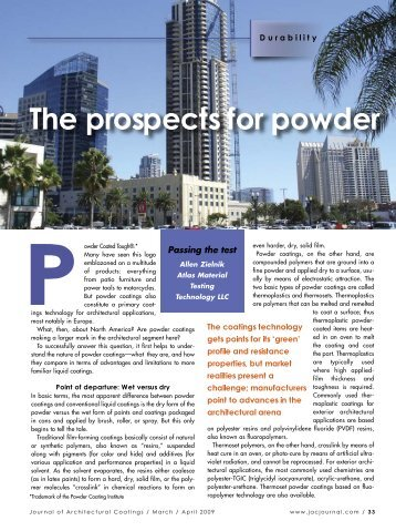 The prospects for powder - PaintSquare