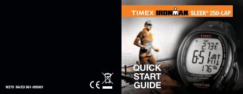 QUICK START GUIDE - Timex