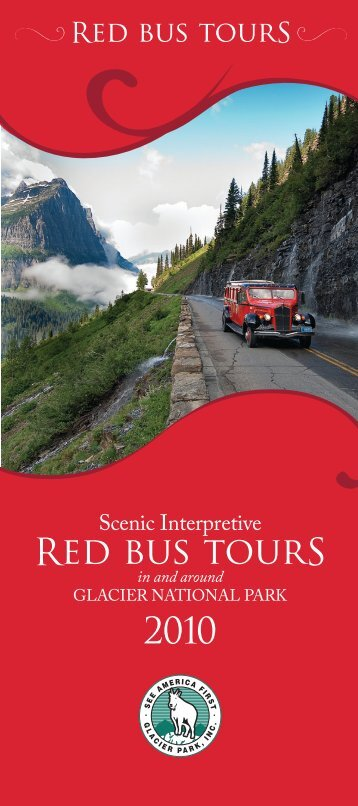Red bus tourS - Glacier Park Inc.