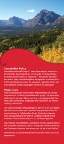 Red bus tourS - Glacier Park Inc. - Page 3