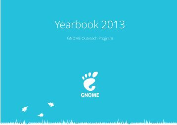 Yearbook 2013 – GNOME Outreach Program