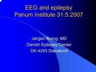 EEG in epilepsy - Graduate School of Neuroscience
