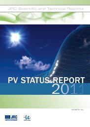 PV StatuS RePoRt PV StatuS RePoRt - NCPRE - national centre for ...
