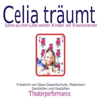 Celia träumt Inhalt - Friedrich-von-Spee-Gesamtschule Paderborn