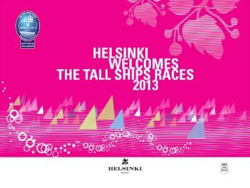 Helsinki welcomes the Tall Ships Races 2013
