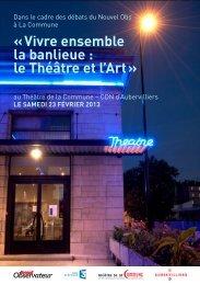 télécharger le programme complet - Théâtre de la Commune