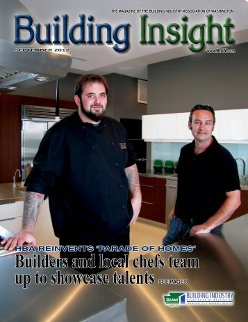 September BI 2012 - Building Industry Association of Washington