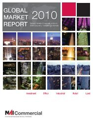 2010 Global Market Report - NAI Commercial Real Estate