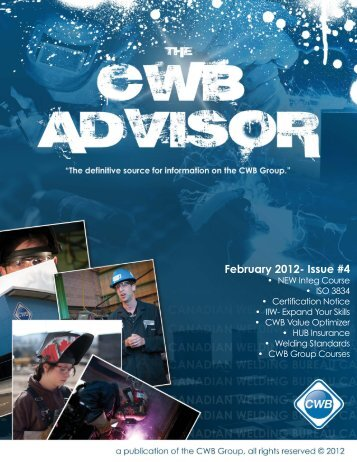 February 2012- Issue #4 - CWB Group