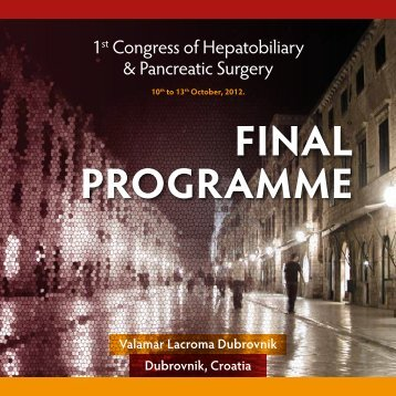 Final PrOgramme - Conventus Credo