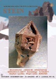 mineraler - edelstener fossiler - smykker - NAGS