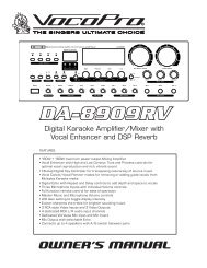 DA-8909RV Manual Text.indd - Sundial Micro, Inc.