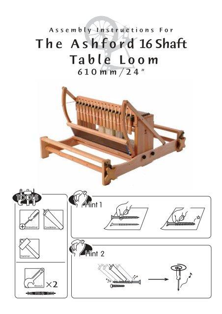 16 Shaft Ashford Table Loom