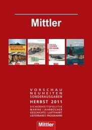 HERBST 2011 - Koehler & Mittler