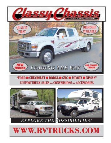 ford - Classy Chassis Trucks