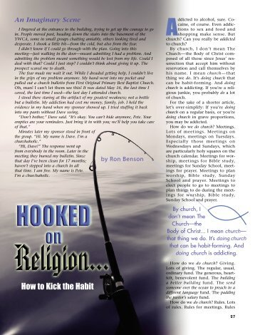 27-30 Hooked on Religion:Master Galley - Plain Truth Ministries