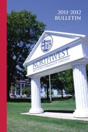 2011-12 Bulletin - Northwest Mississippi Community College