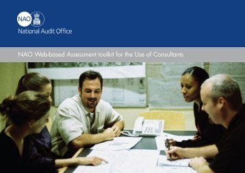 NAO Web-based Assessment toolkit for the Use of Consultants