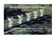 Introduction to Radio Interferometry - Steven Tingay - CIRA