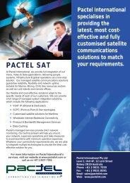 PACTEL SAT - Pactel International