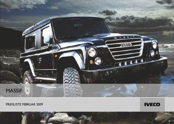 Iveco Massif Preisliste - Transporter + Service