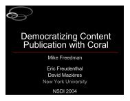 Democratizing Content Publication with Coral - The Coral Content ...