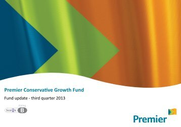 Premier Conservative Growth Fund - Premier Asset Management