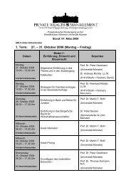 1. Term: 27. – 31. Oktober 2008 (Montag – Freitag)