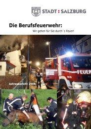 Jahresbericht 2008 - eBook - Berufsfeuerwehr Salzburg