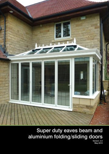 Bi-folding doors and Super Duty Eaves Beam G... - Barbour Product ...