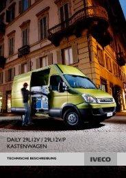DAILY 29L12V / 29L12V/P KASTENWAGEN - Transporter + Service
