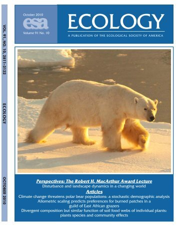 Climate Change Threatens Polar Bear Populations