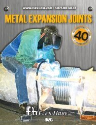 Expansion Joints Brochure - Flex-Hose Co Inc
