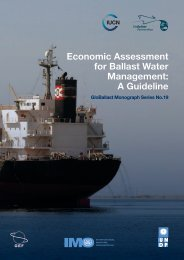 Economic Assessment for Ballast Water Management: A Guideline