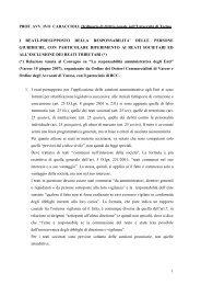 1 PROF. AVV. IVO CARACCIOLI, Ordinario di diritto penale nell ...