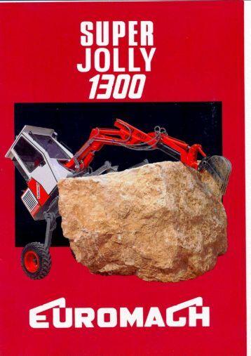 Euromach Super Joly 1300 - Unusuallocomotion.com