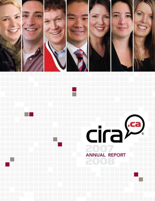 CIRA Annual Report 2007-2008