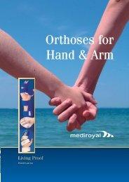 Orthoses for Hand & Arm - Mediroyal