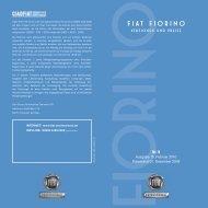 Fiat Fiorino Preisliste - Transporter + Service