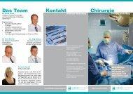 Kontakt Chirurgie Das Team - Klinikum Niederberg