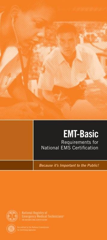 EMT-Basic - National Registry of Emergency Medical Technicians