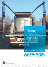 Schmitz Cargobull Pritsche - TRANSPORTE NIEBUHR  GmbH