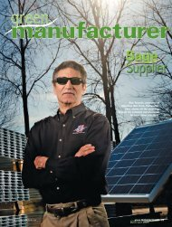 Green Manufacturer - Unirac