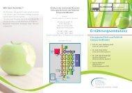 Ernährungsambulanz - des Klinikums