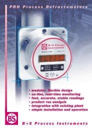 PRH Process Refractometers