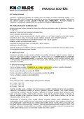 Pravidla soutěže ke stažení - KB - BLOK systém, sro - Page 2