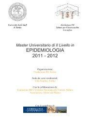 EPIDEMIOLOGIA 2011 - 2012 - Associazione Italiana Registri Tumori