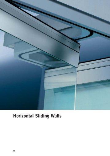 Horizontal Sliding Walls